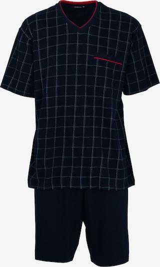 Götzburg Pyjama in navy / dunkelblau / rot, Produktansicht