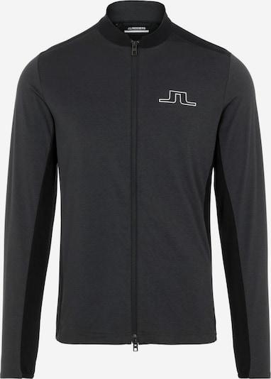 J.Lindeberg Sportjas in de kleur Antraciet / Donkergrijs, Productweergave