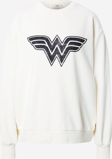 NA-KD Sweatshirt 'Wonder Woman' in anthrazit / offwhite, Produktansicht