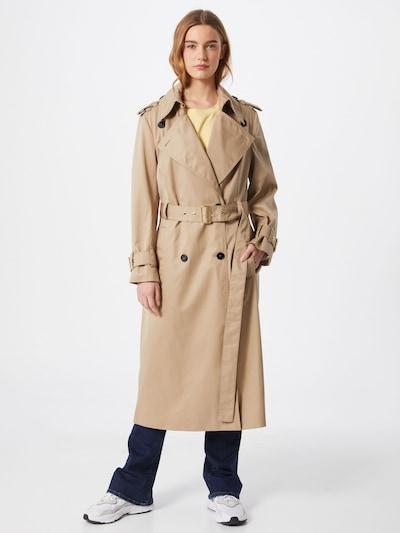 DRYKORN Between-seasons coat 'Comber' in beige, View model