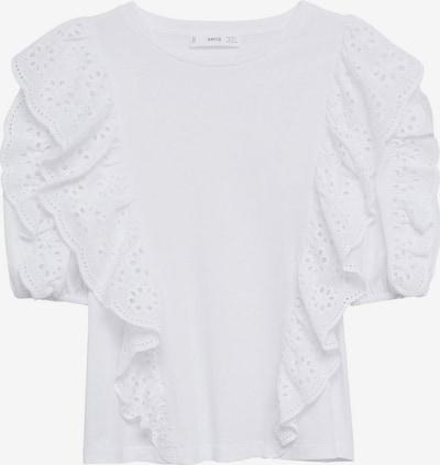 MANGO Shirt 'SWISS' in weiß, Produktansicht