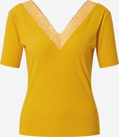 VILA Majica 'Gytta' u žuta: Prednji pogled