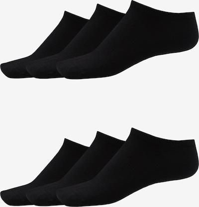SCHIESSER Chaussettes ' 6er-Pack Socken ' en noir: Vue de face