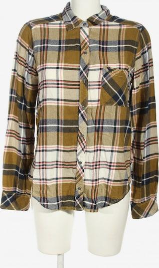 Abercrombie & Fitch Langarmhemd in M in khaki / schwarz / wollweiß, Produktansicht