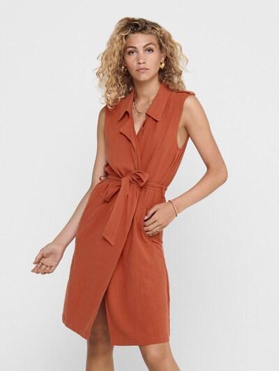 ONLY Bodywarmer in de kleur Oranjerood, Modelweergave