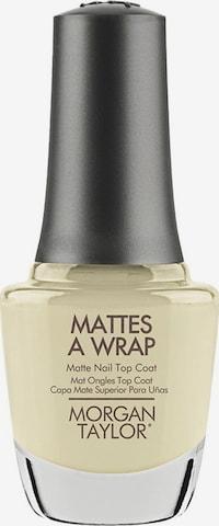 Morgan Taylor Top Coat 'Matte Nail' in Beige