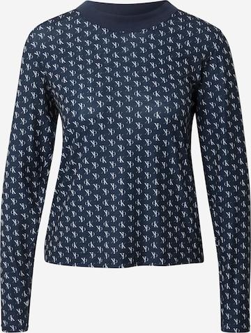 zils Calvin Klein Underwear Pidžamas krekls