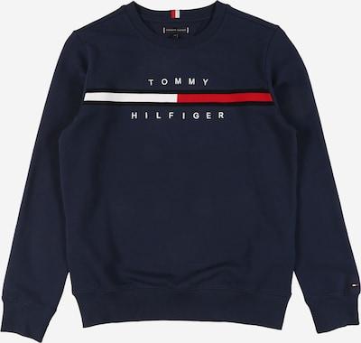 TOMMY HILFIGER Mikina - námornícka modrá / červená / biela, Produkt