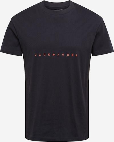 Tricou 'Copenhagen' JACK & JONES pe coral / negru, Vizualizare produs