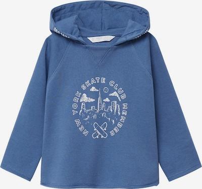 MANGO KIDS Sweatshirt in blau / weiß, Produktansicht