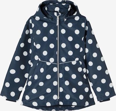 NAME IT Tussenjas in de kleur Donkerblauw / Wit, Productweergave