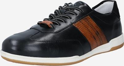 Sneaker bassa bugatti di colore marrone / nero, Visualizzazione prodotti