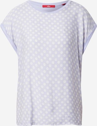 s.Oliver T-Shirt in flieder / weiß, Produktansicht