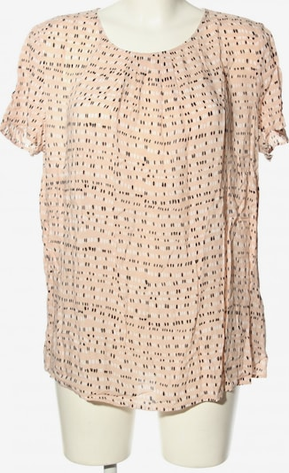 talkabout Kurzarm-Bluse in XL in creme / schwarz / weiß, Produktansicht