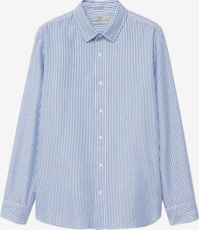 MANGO MAN Košulja 'Kodak' u plava / bijela, Pregled proizvoda