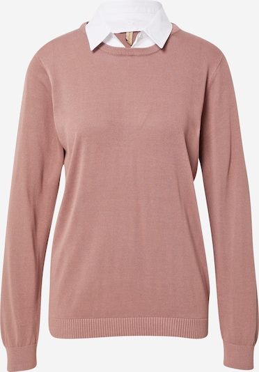 Soyaconcept Pullover 'PALOMA' in lila / weiß, Produktansicht