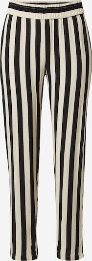 JDY Pantalon 'JDYSTAAR LIFE PANT WVN' en beige / noir, Vue avec produit