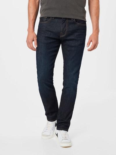 SELECTED HOMME Jeans 'LEON' i mörkblå, På modell