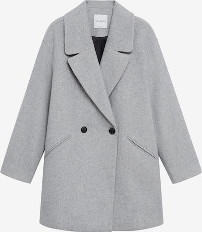 Palton de primăvară-toamnă 'CRUZA' VIOLETA by Mango pe gri amestecat, Vizualizare produs