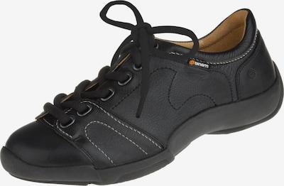 Binom Schnürschuhe in schwarz, Produktansicht