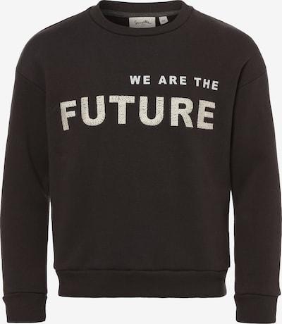SANETTA Sweatshirt in schwarz / weiß, Produktansicht