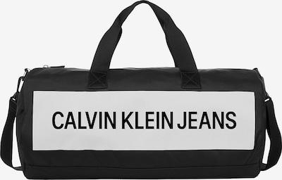 Calvin Klein Jeans Weekendtas in de kleur Zwart / Wit, Productweergave