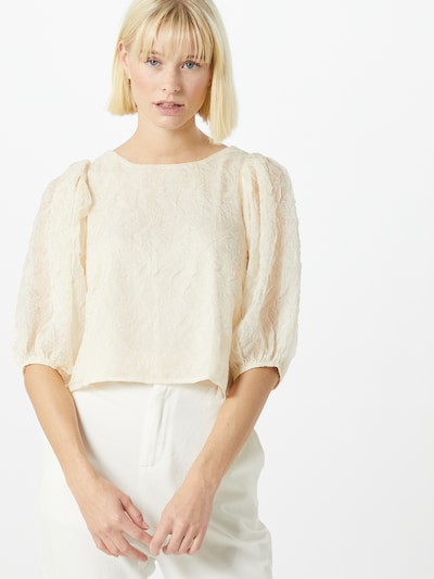 ABOUT YOU Bluse 'Blanca' in creme, Modelansicht