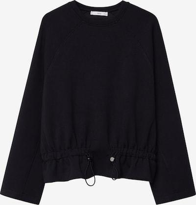 MANGO Sweatshirt 'Papier' in schwarz, Produktansicht
