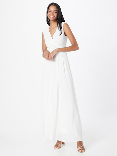 Skirt & Stiletto Kleid 'Althea' in weiß, Modelansicht