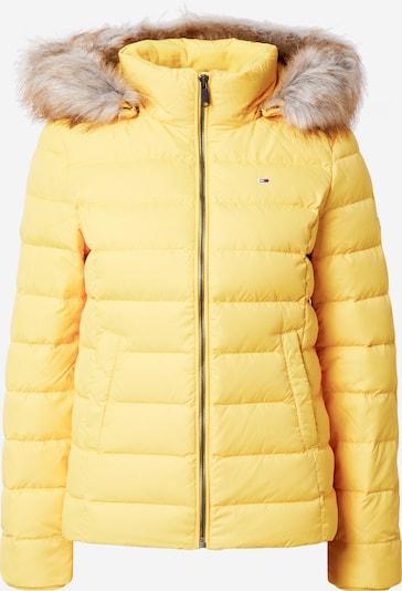 Tommy Jeans Winterjacke in gelb, Produktansicht