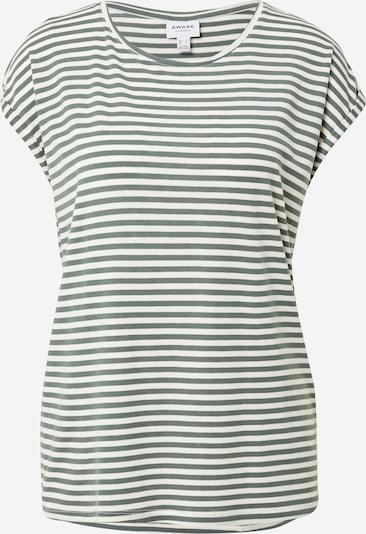 VERO MODA T-Shirt 'AVA' in grün / weiß, Produktansicht