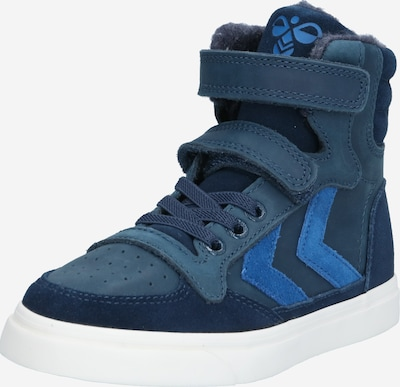 Hummel Sneakers 'STADIL OILED' in blue / dusty blue / dark blue, Item view