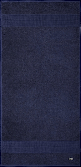 LACOSTE Handtuch 'LE CROCO' in blau / dunkelblau, Produktansicht