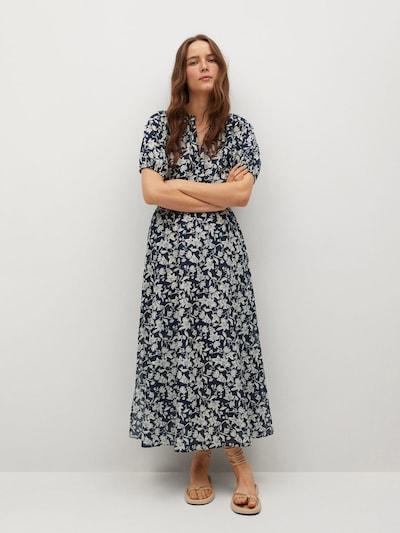 Rochie de vară 'CALABASA' MANGO pe bleumarin / alb, Vizualizare model