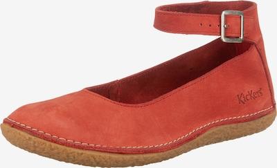 KICKERS Riemchenballerina 'Honnora' in rot, Produktansicht