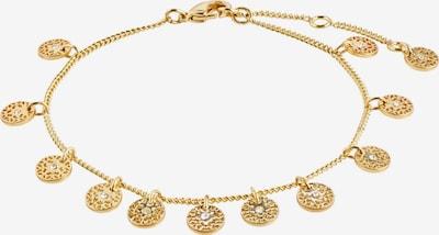 Pilgrim Armband 'Carol' in rosegold / weiß, Produktansicht
