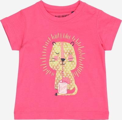 BLUE SEVEN T-Shirt en jaune / rose, Vue avec produit