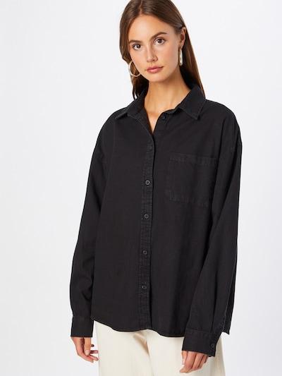 Cotton On Bluse in black denim, Modelansicht