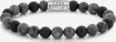 Rebel & Rose Armband in grau, Produktansicht