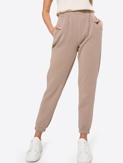 Gina Tricot Hose in taupe, Modelansicht