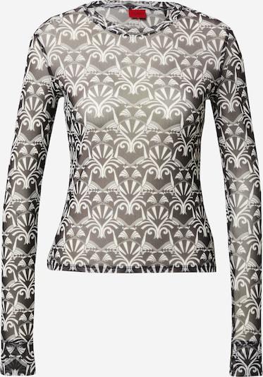 HUGO Tričko 'Diralina' - čierna / biela, Produkt