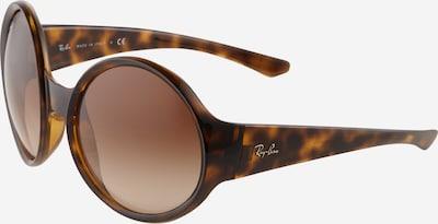 Ray-Ban Lunettes de soleil '0RB4345' en marron / cognac, Vue avec produit