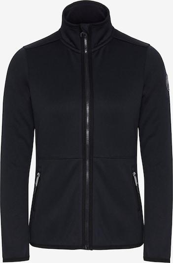 CHIEMSEE Functional fleece jacket 'Trivor' in black, Item view
