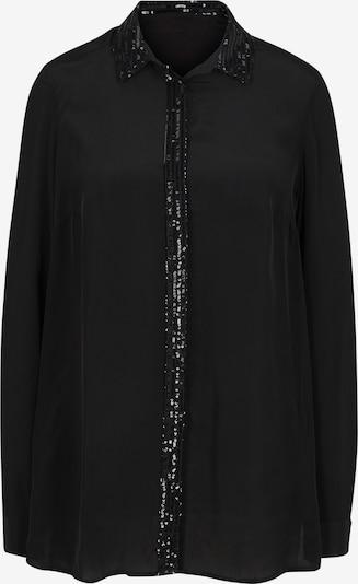 heine Bluzka w kolorze czarnym: Widok z przodu