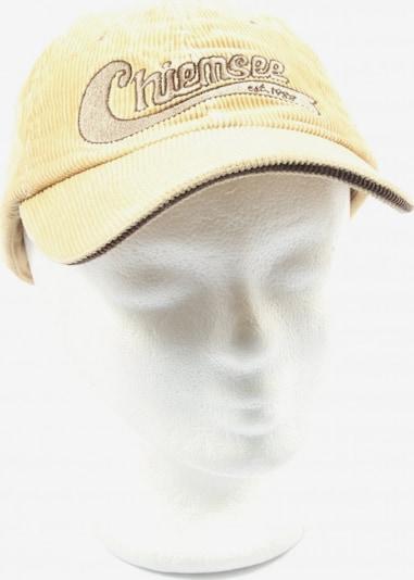 CHIEMSEE Basecap in XS-XL in pastellgelb, Produktansicht