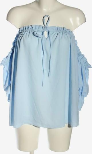 SassyClassy Carmen-Bluse in XS-XL in blau, Produktansicht