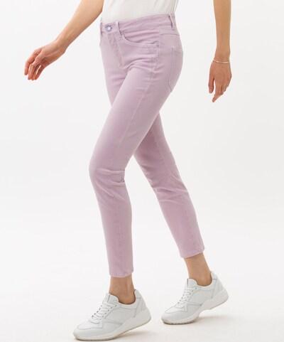 BRAX Jeans 'Ana S' in lavendel, Modelansicht