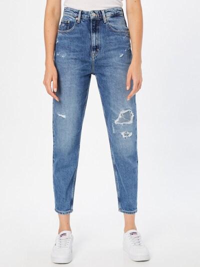 Jeans Tommy Jeans pe albastru denim, Vizualizare model