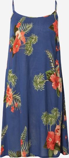 BRUNOTTI Robe d'été 'Julia' en mastic / bleu marine / olive / vert foncé / rouge orangé, Vue avec produit