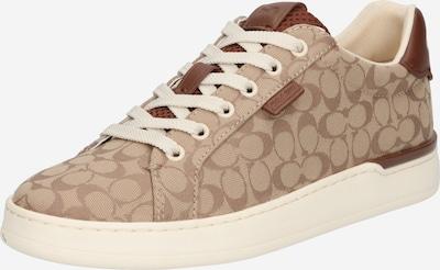 Sneaker low COACH pe bej / culoarea pielii / maro, Vizualizare produs